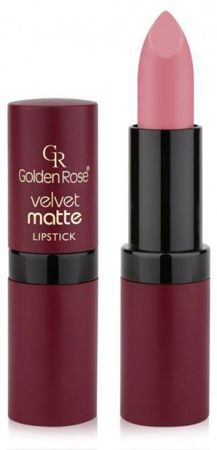 Golden Rose Velvet matte lipstick Matowa pomadka do ust 07