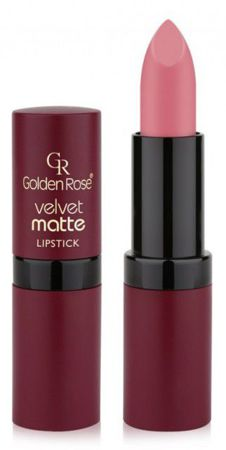 Golden Rose Velvet matte lipstick Matowa pomadka do ust 10