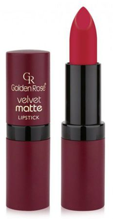 Golden Rose Velvet matte lipstick Matowa pomadka do ust 18