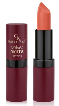 Golden Rose Velvet matte lipstick Matowa pomadka do ust 21