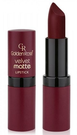 Golden Rose Velvet matte lipstick Matowa pomadka do ust 23