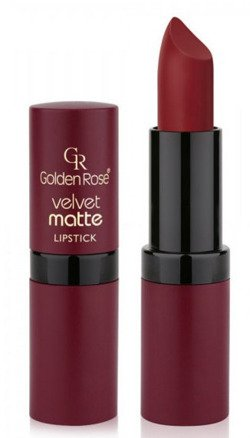 Golden Rose Velvet matte lipstick Matowa pomadka do ust 25