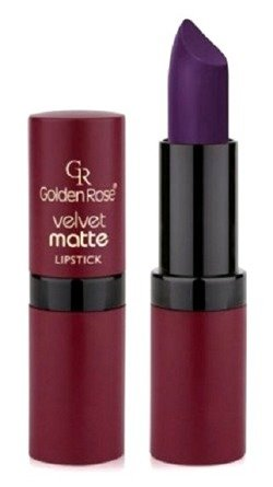 Golden Rose Velvet matte lipstick Matowa pomadka do ust 28