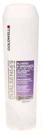 Goldwell Dualsenses Blondes & Highlights Conditioner - Odżywka do włosów blond, 200ml