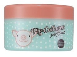 Holika Holika Pig-Collagen jelly pack - Krem do twarzy na noc z kolagenem 80g