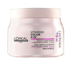 Loreal Pro Vitamino Color A-OX Mask - Maska do włosów chroniąca kolor, 500 ml