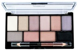 MUA Eyeshadow Palette Elysium Elements  - Paleta 10 cieni do powiek + kredka 17g