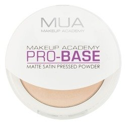 MUA Pro-Base Matte Satin Pressed Powder - Prasowany puder do twarzy Ivory 6,5g