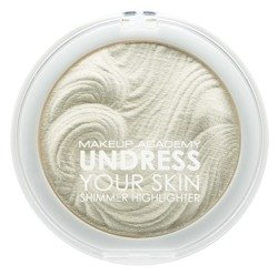 MUA Undress Your Skin Shimmer Highlighter - Rozświetlacz do twarzy i ciała Iridescent Gold  7.5g