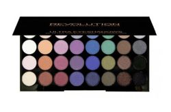 Makeup Revolution 32 Eyeshadow Palette - Paleta 32 cieni do powiek Mermaids Forever