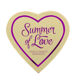 Makeup Revolution I Heart Makeup Blushing Hearts-Love Hot Summer Bronzer