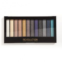 Makeup Revolution Redemption Palette Essential Day to Night - Paleta cieni do powiek 12 odcieni