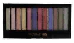 Makeup Revolution Redemption Palette Paleta 12 cieni do powiek Unicorns Are Real