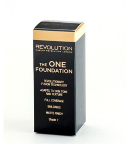 Makeup Revolution The One Foundation - Podkład w płynie do twarzy Shade 7, 29 ml