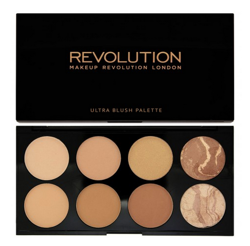Makeup Revolution Ultra Bronze Palette - Paleta bronzerów do twarzy All About Bronzed, 13 g