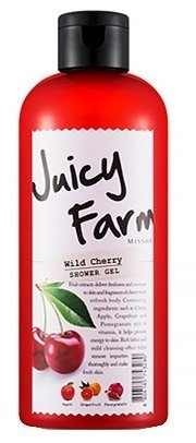 Missha Juicy Farm Shower Gel Wild Cherry - Żel pod prysznic 300ml