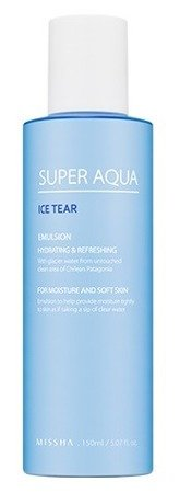 Missha Super Aqua Ice Tear Emulsion - Lekka emulsja  do twarzy 150ml