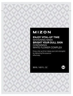 Mizon Enjoy Vital-Up Time Whitening Mask  - Maseczka wybielająca 30ml