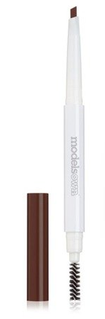 Models Own Now Brow! Eyebrow Pencil&Brush Duo - Kredka do brwi 132 Medium Brown