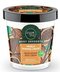 Organic Shop Body Dessert - Nawilżający krem do ciała Vanilla Whiped BD30 450ml