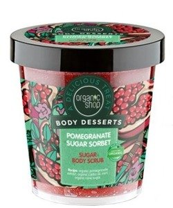 Organic Shop Body Desserts - Cukrowy scrub do ciała Pomegranate BD22 450 ml
