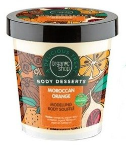 Organic Shop Modelling Body Souffle - Modelujący suflet do ciała Moroccan orange BD19 450ml