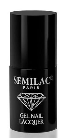SEMILAC Hybrydowy Lakier Do Paznokci  -  TOP MAT Gel Polish Soak-Off Gel 7 ml