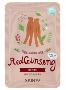 Skin79 Fresh Garden - Maska do twarzy Red Ginseng 23g