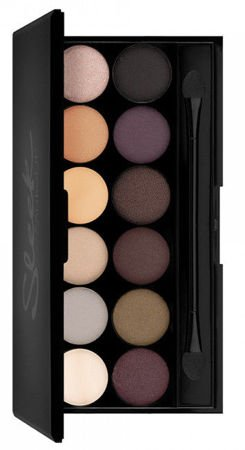 Sleek Makeup I-Divine Paleta 12 Cieni, Au Naturel