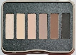 W7 In The Mood  Eye Colour Palette - Paleta cieni do powiek  7 g