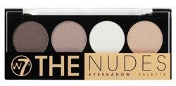 W7  The Nudes Eyeshadow Palette - Paleta 4 cieni do powiek 5,6 g