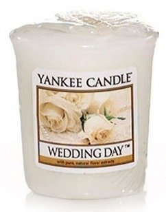 Yankee Candle Sampler Świeca Wedding day