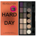 Makeup Revolution Palette Hard Day - Paleta cieni do powiek 18 odcieni