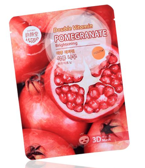 BELOV Double Vitamin 3D mask POMEGRANATE  Maska w płacie 38g