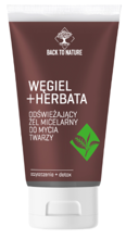 Back To Nature Żel micelarny Węgiel+Herbata 150ml