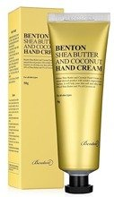 Benton Shea Butter And Coconut Hand Cream Krem do rąk 50g