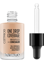 Catrice One Drop Coverage Płynny korektor kryjący 010 Light beige 7ml