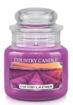 Country Candle Country Lavender Mały słoik świeca 104g
