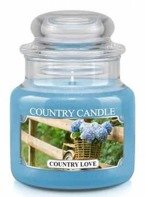 Country Candle Country Love Mały słoik świeca 104g