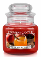 Country Candle Słoik średni Spiced Apple Chai-der 453g