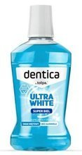 Dentica White Fresh Mouthwash - Płyn do płukania jamy ustnej, 500 ml