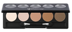 Flormar Color Palette Eye Shadow 07 Nude Dudes Paletka 5 cieni do powiek
