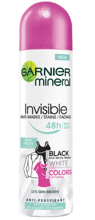 Garnier Invisible 48h Anti - Marks Spray Antyperspirant w sprayu 150ml
