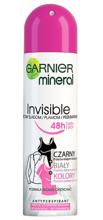Garnier Invisible BWC Floral Fresh Spray Antyperspirant w sprayu 150ml