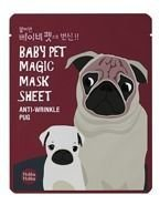 Holika Holika Baby Pet Magic Mask Sheet Anti-Wrinkle Pug - Maseczka do twarzy