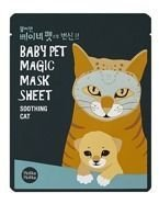 Holika Holika Baby Pet Magic Mask Sheet Soothing Cat - Maseczka do twarzy