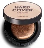 Holika Holika Hard Cover Glow Cushion  03 Honey Jedwabisty krem BB 14g + ZAPAS
