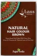 Lass Henna do włosów Brown 100g