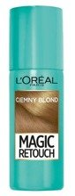 Loreal Magic Retouch Spray na odrosty Ciemny blond 75ml