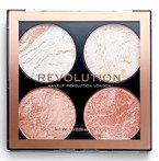 Makeup Revolution Cheek Kit Paletka do konturowania Take a Breather